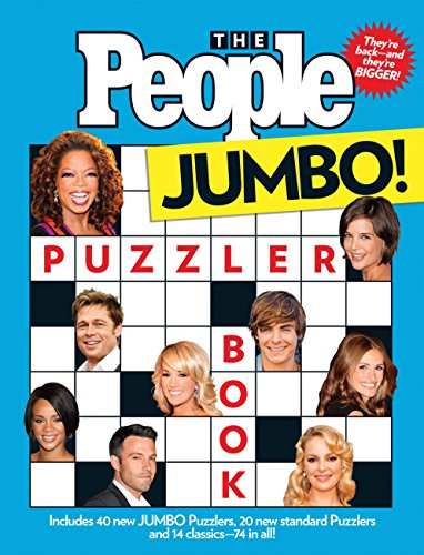 The People Puzzler Book: Jumbo E...