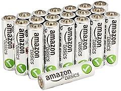 AA-Alkalibatterien