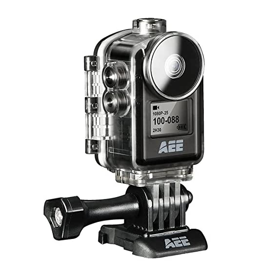 AEE Technology Action Cam MD10 1080P/30 8MP Ultra Compact Body Wi-Fi Waterproof Wireless Action Camera with 2.0-Inch LCD (Black) - 51iNRRwzKIL - AEE Technology Action Cam MD10 1080P/30 8MP Ultra Compact Body Wi-Fi Waterproof Wireless Action Camera with 2.0-Inch LCD (Black)