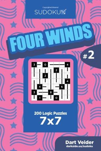 Read Online Sudoku Four Winds - 200 Logic Puzzles 7x7 (Volume 2) pdf