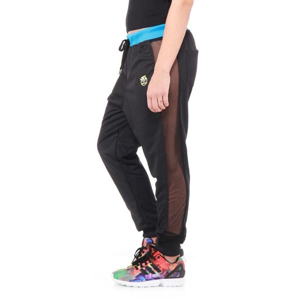 TALLA 38. adidas funneln Esquina Long Trousers, Todo el año, Mujer, Color Negro, tamaño 38