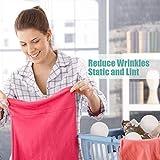 Wool Dryer Balls Organic XL 6-Pack, Premium