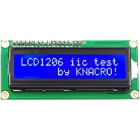 Artshu IIC/I2C/TWI 1602 - Módulo LCD de retroiluminación para Arduino UNO R3 MEGA2560 16 x 2, 1602 Letras Blancas en visualización Azul