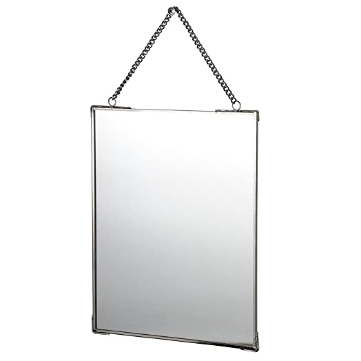 mirror on chain. hanging mirror with chain on