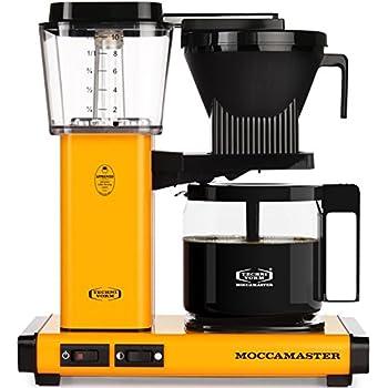Technivorm Moccamaster 59608 KBG Yellow Pepper, 40 oz
