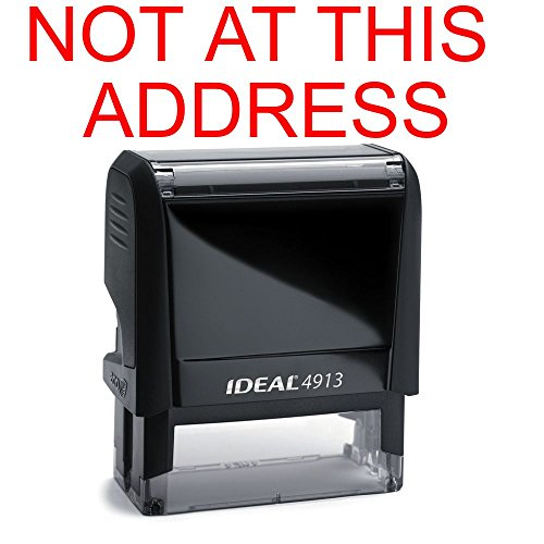 Address Rubber Stamp Office Self inking product image