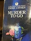 Murder to Go, Mary j latsis/m henissart, 0671773011