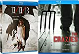 The Crazies & 13/13/13 Blu Ray Scary Horror Thriller Movie Set