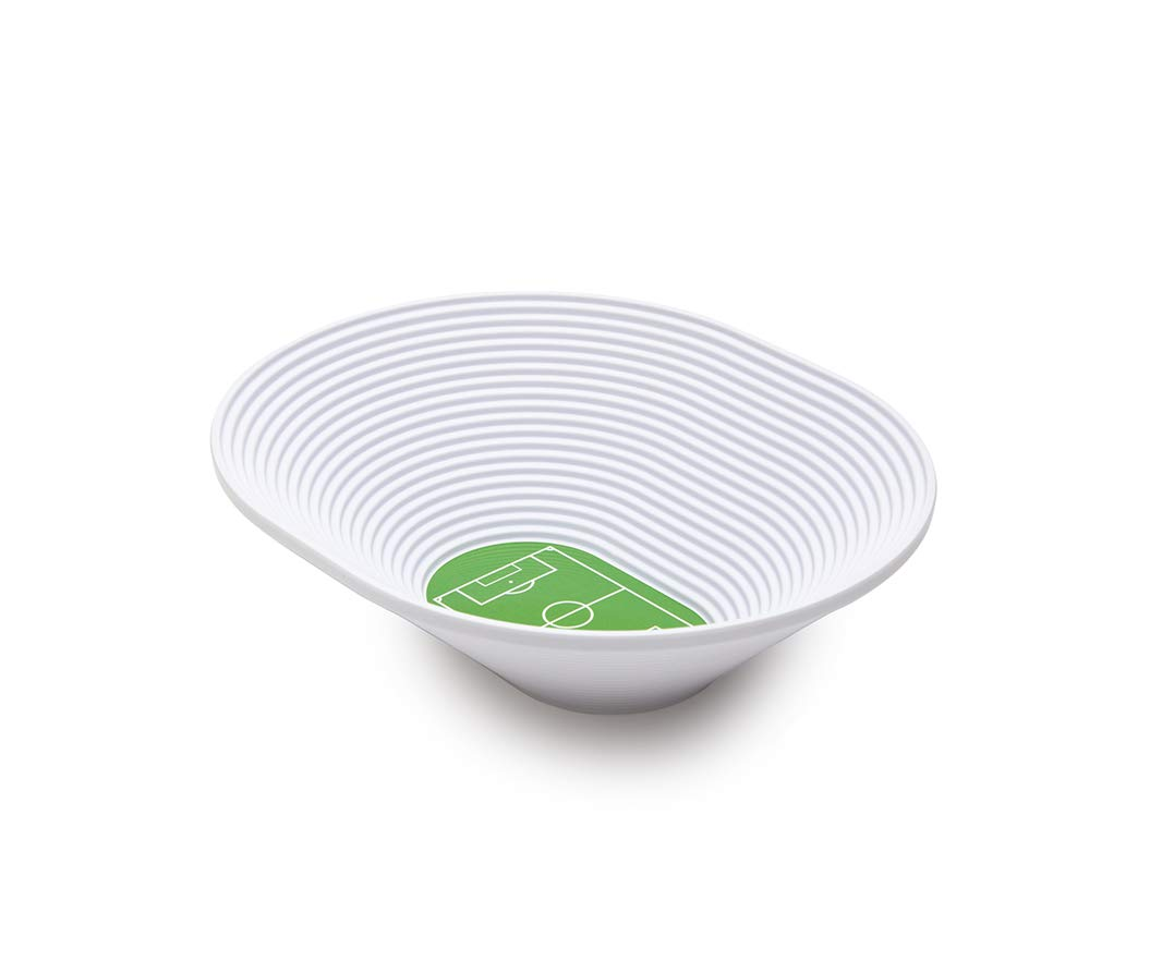 FOOTBOWL Snack Bowl - Football Stadium Melamine Bowl by OTOTO (Soccer)