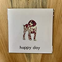 German Shorthaired Pointer Happy Day Greeting Card