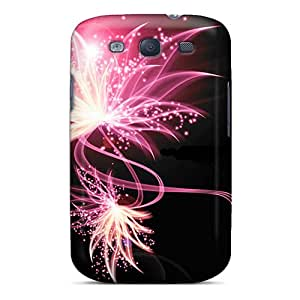 Galaxy Case - Tpu Case Protective For Galaxy S3- Pink Abstract