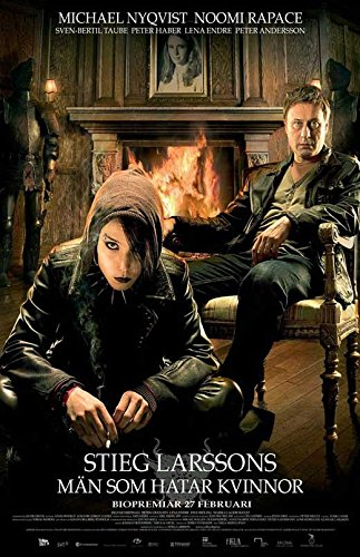 The Girl with the Dragon Tattoo Poster Movie Swedish Michael Nyqvist Noomi Rapace Lena