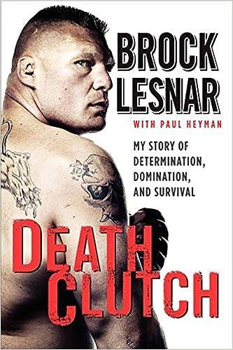 brock lesnar death clutch book