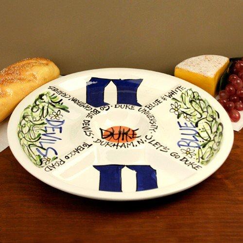NCAA Duke Blue Devils Ceramic Veggie (Devils Ceramic)