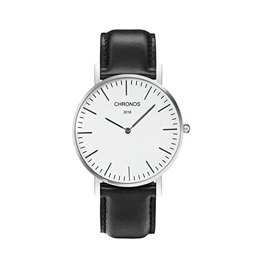 Pareja Reloj Correa de Nylon para Hacer Punto Delgado Moda Reloj de Cuarzo-R: Amazon.es: Relojes