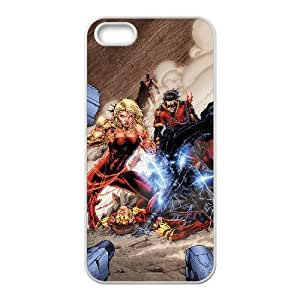 Teen Titans iPhone 4 4s Cell Phone Case White xlb-214726