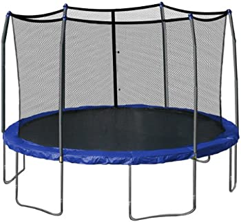 Skywalker 15-Foot Round Trampoline with Safety Enclosure