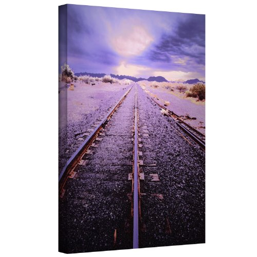 (ArtWall Dean Uhlinger 'Vanishing Point Arizona' Gallery-Wrapped Canvas Artwork, 36 by)