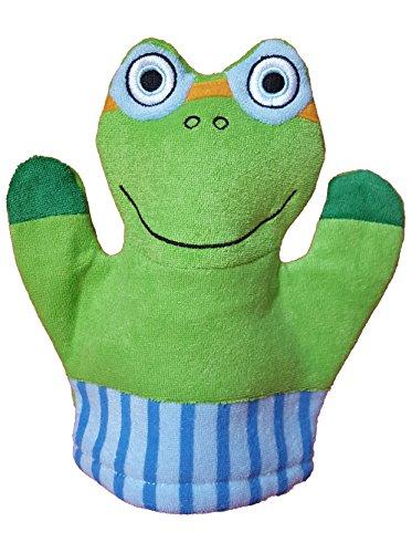 Children Bath Mitt Trace Frog