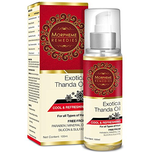 Morpheme Exotica Thanda Hair Oil – 100ML