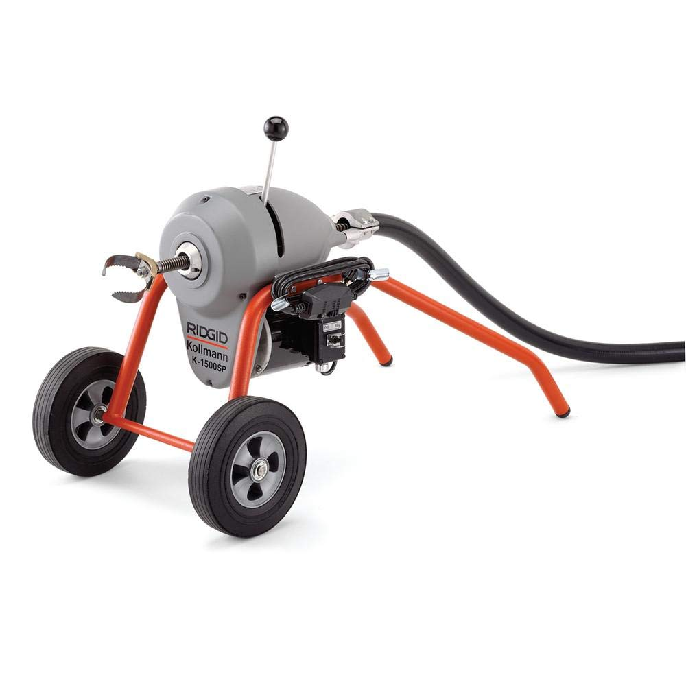 Ridgid 23697 K1500B Drain Cleaning Machine Only