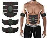Kyпить ASANDH ABS Stimulator EMS Wireless Portable Trainer the Body in Home/Office, Fitness Equipment For Abdomen/Arm/Leg Training Support Men&Women (Red Line) на Amazon.com