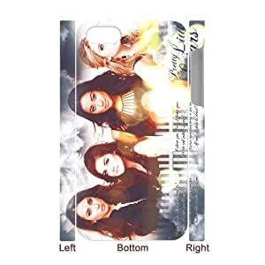 D-PAFD Diy hard Case Pretty Little Liars customized 3D case For Iphone 4/4s