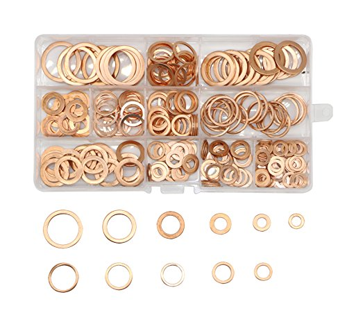5 16 copper washers - 4