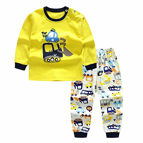 Price comparison product image Autumn Baby Boy Girl Clothes Long Sleeve Top + Pants 2pcs Sport Suit Baby Clothing set newborn infant Clothing A02 6M