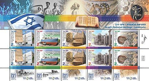 Israel Stamps National Heritage 2014 Collection Album Jerusalem History MNH
