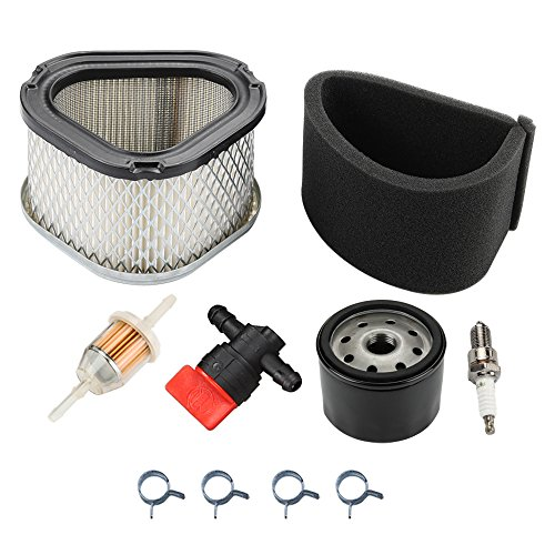 Panari GY20574 Air Filter + Oil Filter Tune Up Kit for John Deere AM121608 AM123553 STX30 STX38 LX173 LT133 LT155 LTR155 Scotts S1642 SST15 Lawn Mower Tractor