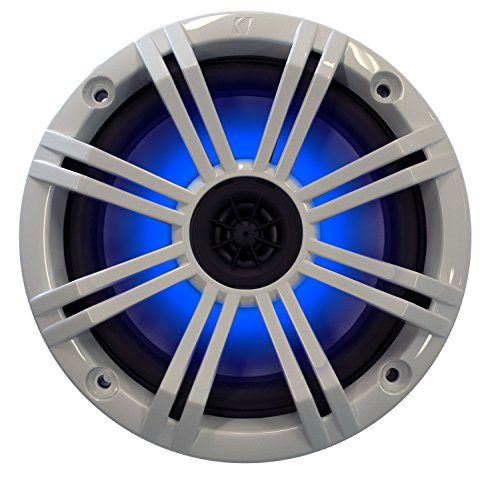 Kicker 6.5'' White LED Marine Speakers (QTY 2) 1 pair of OEM replacement speakers by Kicker (Image #3)