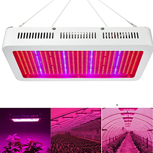 600 Watt LED Grow Light, EnerEco Horticulture Full Spectrum LED Plant Grow Lamp Light for Hydroponic Greenhouse and Indoor Plant Flowering Growing by EnerEco