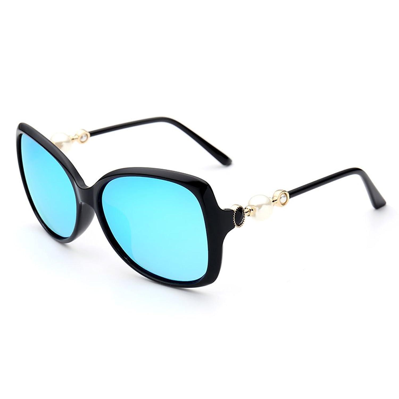 Meijunter Frauen Polarisiert Sonnenbrille Pearl Rahmen Eyewear UV400 ...