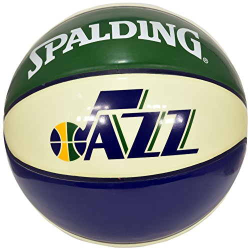 Spalding NBA Utah Jazz Team Colors And Logo Basketball