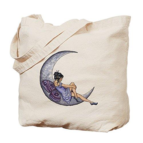 CafePress–un hada luna–Gamuza de bolsa de lona bolsa, bolsa de la compra