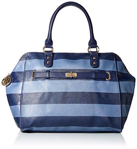 UPC 646130614511, Tommy Hilfiger Helen Satchel Bag, Navy/French Blue, One Size