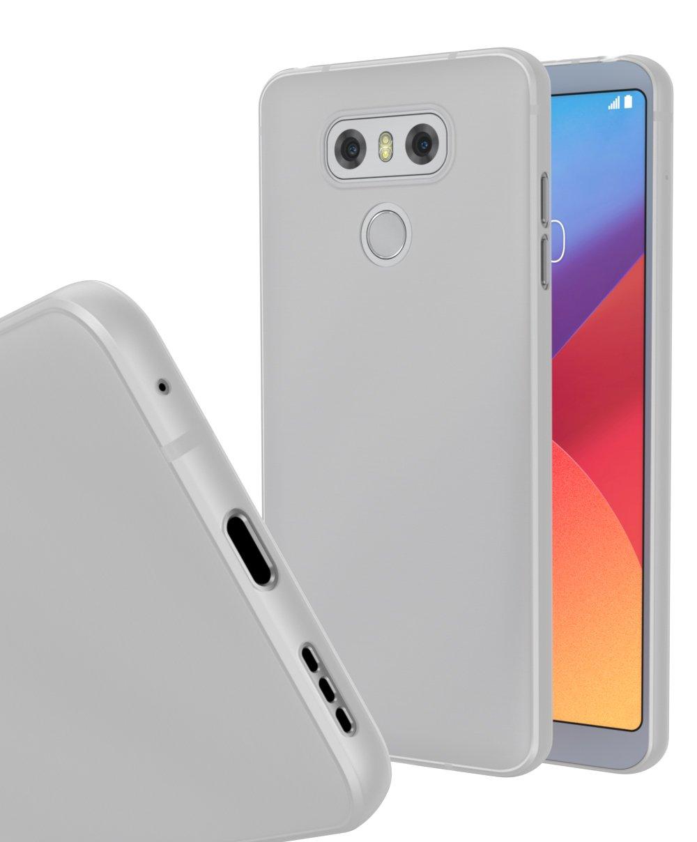 Estuche fino LG G6 MNML (blanco claro): Amazon.es: Electrónica