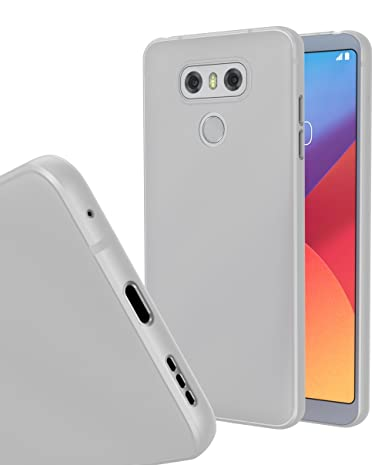 pretty nice 99557 2b753 LG G6 Ultra Slim Case (Clear White)
