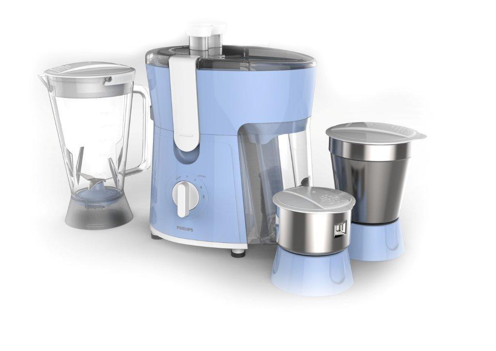 Philips Amaze HL7576/00 600-Watt Juicer Mixer Grinder with 3