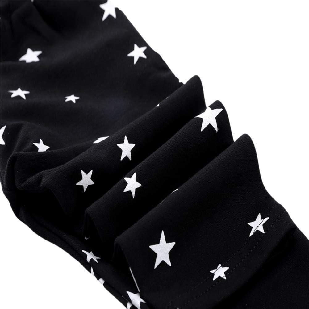 URMAGIC Coton Pantalons B/éb/é Enfant Gar/çons Filles Mignonnes /étoiles Motif Sarouel Pantalons V/êtements Chaud