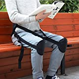 Ueasy Adjustable Back Posture Corrector Brace Clavicle Brace Portable Correct Back Posture for Correction Posture Enhance Temperament