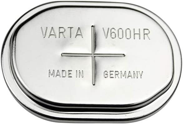 2PCS Original VARTA V600HR 1.2V 600mAh Button Cell Ni-MH Rechargeable Battery T-Box CNC Battery Made in Germany