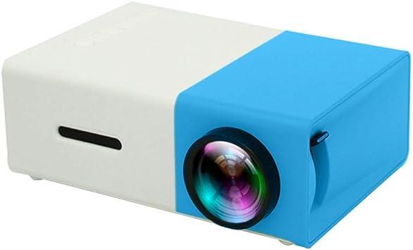 Zichen Mini proyector, proyector portátil Full HD, Lente de ...