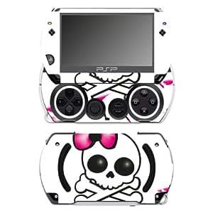 "Motivos Disagu Design Skin para Sony PSP Go: ""Girl Skull"""
