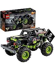 LEGO 42118 Technic Monster Jam Grave Digger, Byggsats med Leksakslastbil och Off-Road, 2-i-1 Set