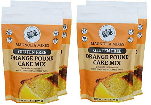 Magnolia Mixes Gluten Free Orange Pound Cake Mix ()