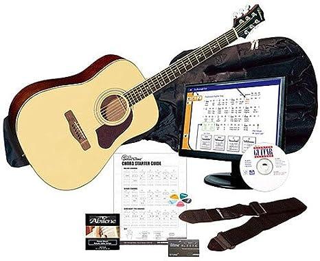 Silvertone SD3000PAK BK -String Acoustic Guitar Samick Music Corp.