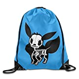 KTKY Eevee Skull Cool Cord Bag One Size