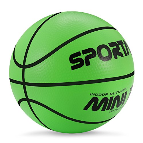 Stylife® 5inch Mini Basketball for Kids, Environmental Protection Material,Soft and Bouncy,Colors Varied